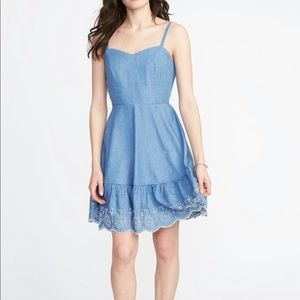 Blue Cami dress from Old Navy.